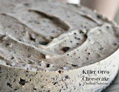 Killer Oreo Cheesecake