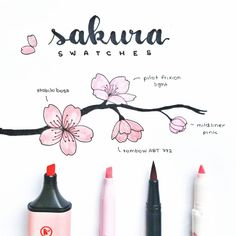 I did another swatch, this time with a tombow dual brush in the colour bc it's very similar to the stabilo boss pastel pink colour Bullet Journal Inspo, Bullet Journal Aesthetic, Bullet Journal Notebook, Bullet Journal Ideas Pages, Journal List, Stabilo Boss, Gel Ink Pens, Flower Doodles, Pink Things