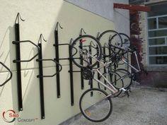 sino concept vertical bike rack manufacturer china 300x225 Wall mounted bike rack manufacturer