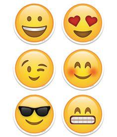 """Emoji Fun 3"""" Designer Cut-Outs"""
