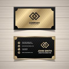 Gold Business Card, Luxury Business Cards, Elegant Business Cards, Free Business Cards, Professional Business Card Design, Business Design, Mise En Page Web, Visiting Card Design, Name Card Design