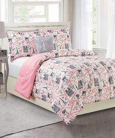 Take a look at this Paris Three-Piece Comforter Set today!