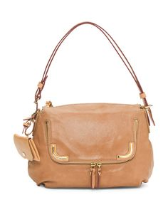 Daily+Convertible+Leather+Shoulder+Bag