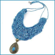 Antoinette Vintage Statement Necklace /  This is Beautiful ----- would take a little time but would be worth it!!!