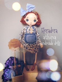 Floradora by athinahandmadedolls on Etsy