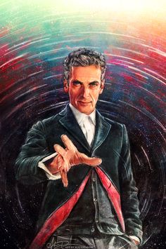 Happy Doctor Who Saturday! Here's my latest comic cover artwork. I was told that this is the first officially licensed art of Peter Capaldi as the Doctor!! Such a huge honor! For reference (since i...
