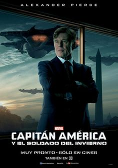 Robert Redford es Alexander Pierce