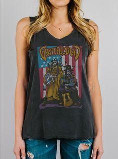 Grateful Dead Tank - Tops - Womens