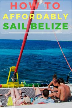 How to sail Belize for 3 days - stay on private islands with this all you can eat and drink experience in the Caribbean. Belize Resorts, Belize Travel, Weather In Belize, Sailing Trips, Sailing Adventures, Central America, South America, Wanderlust Travel, Adventure Travel