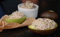 'Tuna' Stuffed Avocados [Vegan] | One Green Planet