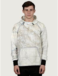 Christopher Raeburn Map Print Windcheater Jacket