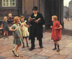 """""""Paradisspillet / Paradise game"""", 1925. Erik Ludwig Henningsen (Danish, 1855–1930)"""