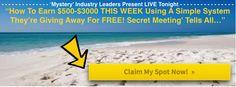 Secret Meeting Feb 24, 2014 @ 9pm EST. I am inviting you! http://secret.marychristopherson.com