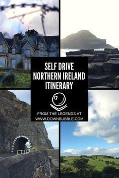 Self Drive Northern Ireland Itinerary   Do you have 3-5 days in Northern Ireland? Take a road trip with us! See all the main sights including the Giants Causeway, Old Bushmill's Distillery, Carrick-A-Rede Rope Bridge and more, plus recommendations for picturesque towns, places to stay, eat and drink! Also click through to website for notes on cost at the end of the post. Happy travel! Erin & Ryan via @downbubbletravels #irelandtravel