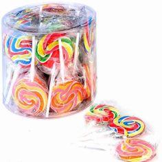 Candy Swirl Suckers