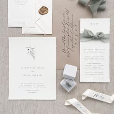 """1,013 Likes, 25 Comments - Aileen Fretz (@plumecalligraphy) on Instagram: """"Love the clean simplicity of this suite!"""""""