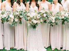 Looking for wedding flower ideas? These herb wedding bouquets are full of pretty rosemary, lavender, sage and other good-smelling herbs for a unique fresh from the garden look. Herb Wedding, Rose Wedding, Elegant Wedding, Wedding Flowers, Wedding 2017, Wedding Wishes, Luxury Wedding, Wedding Planner, Herb Bouquet