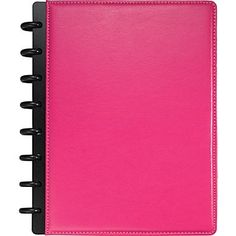 M by Staples ARC Notebook Leather, Pink - Staples -A filofax type planner something like this one with sections you can add fairly cheaply. Arc Planner, Small Planner, Planner Pages, Life Planner, Printable Planner, Family Planner, Free Printables, Organization Bullet Journal, Office Supply Organization