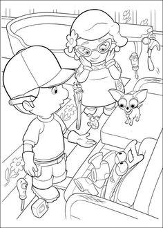 Handy Manny Tegninger til Farvelægning. Printbare Farvelægning for børn. Tegninger til udskriv og farve nº 13