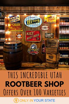 If you're looking for a delicious, unique shopping experience, head to The Root Beer Store in Sandy, Utah. You'll find over 100 flavors and DIY Brew Kits that let you make your own rootbeer at home! Ice Cream Bowl, Best Ice Cream, Dandelion And Burdock, Best Bucket List, Beer Store, And So The Adventure Begins, New Flavour, Beer Lovers, Root Beer