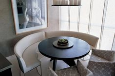 City-Apartment-dining-detail-by-Kelly-Hoppen City-Apartment-dining-detail-by-Kelly-Hoppen