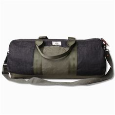 Lovewright Co. x Jyumoku Selvage Duffel Bag