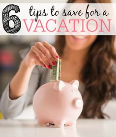 Spring break put you in the mood for a vacation, but you don't have the cash? Check out these tips to save for a vacation.