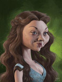 Natalie Dormer as Margaery Tyrell in Game of Thrones
