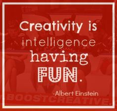 Creativity is intelligence having fun... and connecting things.