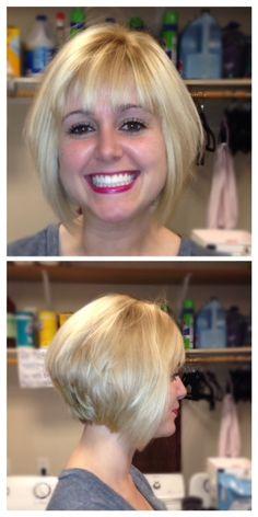 Amazing hair cut by Laurie Parks #heathsaloandspa