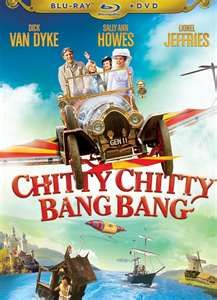 Chitty Chitty Bang Bang...the first movie I ever watched with my U.S. friends.  Also wore out my DVD watching it repeatedly with my niece, Kira.