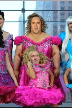 Nicolas Cage can be anyone - Images