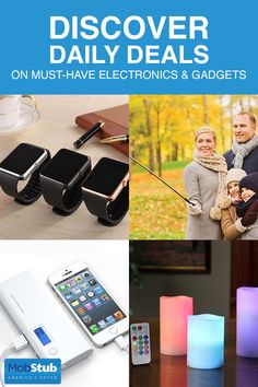 Save more on must-have electronics and gadgets with MobStub?the daily deal site with a difference. From great gift ideas to home electronics and essential accessories?log on to discover new bargains e Heart Of Vegas Bonus, Daily Deals Sites, Electronic Deals, Shopping Places, Deal Sites, Money Savers, Household Chores, Gifts For Office, Inexpensive Gift