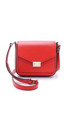 Tory Burch T Lock Mini Flap Cross Body Bag