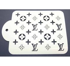 Louis Vuitton Stencil | LV Cake Stencil | Lollipop Cake Supplies
