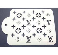 Louis Vuitton Stencil | LV Cake Stencil | Lollipop Cake Supplies