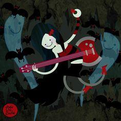 ADVENTURE TIME - Marceline the Vampire Queen