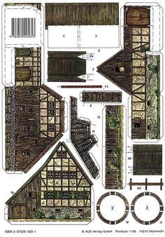 Watermill - PaperModelKiosk.com