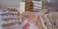 Magazin-Recepti: BIJELI EGIPAT torta - odlična kremasta torta za sve prilike !