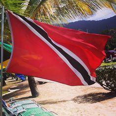 Trinidad and Tobago's Flag!  Love this place..   #LoveTnT #Trinidad