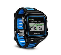 GPS and Running Watches 75230: New Garmin Forerunner 920Xt Multisport Fitness And Training Watch Blue Black BUY IT NOW ONLY: $279.99
