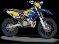 "Enduro motorcycle manufacturer ""Husaberg"". This is a new model for 2013, and its label is TE300. Even more powerful, even more agile, even lighter. Not least because of this, the TE 300 is also the ultimate implement for extreme enduro competitions, most notably as proven and in such commanding style by Graham Jarvis."