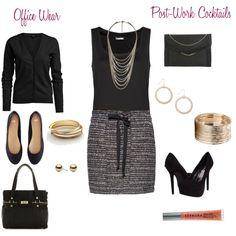 Day to night outfit. #work @Christine Kolek www.christinekolek.com #DayToNight #WomensFashion