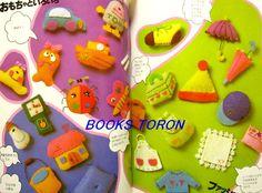 Felt Craft - Animal Doll, Goods /Japanese Handmade Craft Pattern Book/029 | eBay