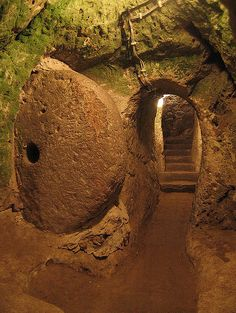 Derinkuyu Underground City, Turkey
