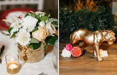As seen on Green Wedding Shoes is this African Safari themed wedding, inspired by a couple's love of Animal Planet shows and their excitement about their upcoming honeymoon adventures. Styling: Amorology Weddings. Photography: Tracy Hill