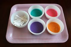 3-Ingredient Homemade Puffy Paint - an Easy Microwaveable Recipe