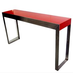 Textured Lacquered Console by Pierre Bonnefille | 1stdibs.com