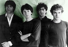 R.E.M. - Peter Buck, Mike Mills, Bill Berry, and Michael Stipe