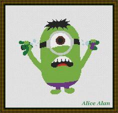 Hulk-minion superhero Marvel Comics TV series films by HallStitch
